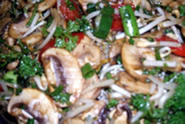 Mushroom & Bean Sprout | Swiss Gourmet Delicatessen and Catering West End Brisbane